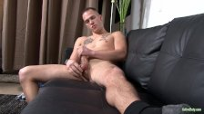 ActiveDuty This Str8 Tatted Marine Spanks BIG Cock