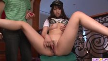 Hinata Tachibana sucks cock until the last drop  - More at Slurpjp com