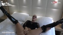 My Dirty Hobby - Horny booty babe takes a pounding