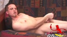 Young Chase Hunter Strips Naked and Jerks Off