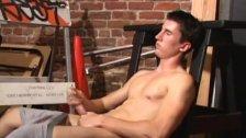 Skater Boy JP Strips Naked and Jerks Off