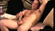 Amateur Straight Boy Justin Jerking Off