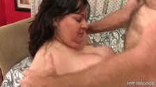 Raunchy BBW Is Fucked Up Her Tight Asshole