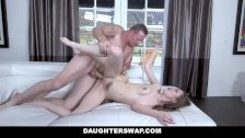 DaughterSwap - Two Horny Daughters Fuck Their Grimey Step Fathers
