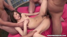 Slut loves getting banged by the fellas and their cocks