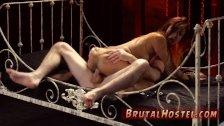 Boss foot domination anal punishment