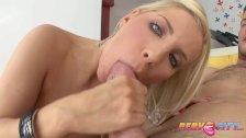 PervCity Blonde Anal Slut Ashley Fires Get A Cum Martini