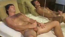 Fetish stud jacking off his big dick