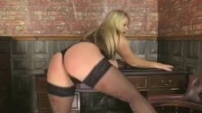Babestation Charley Green Stockings And Tits