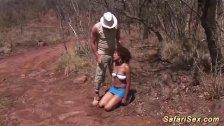 threesome safari sex orgy