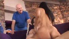 Latina Housewife Riding Strangers Cock