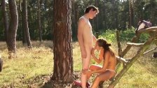 hot young teens (18+) - sommertime outdoor love