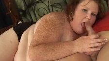 Big Ass SSBBW Swallows Huge Cock