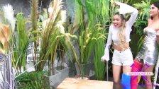 Fetisch-Concept com - 2 girls with long cast leg visit a flower store 2