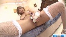 Big Titted Sumire Matsu Squirts From Masturba - More at javhd net