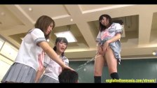 Ikoma Haruna Miyazaki Aya And Palls Do Femdom Pissing In Guys Mouth Hit Him