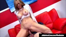 Busty Milf Julia Ann Bangs Her Student While Tutoring Him! - duration 12:00
