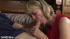 Hot Southern Grandma gets her Young Cock! - duration 7:30