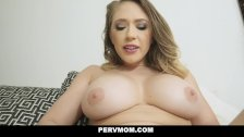 PervMom - Horny Stepmom Sucks My Cock