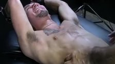Tickling master playing with his sub