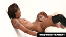 Cosplay Jedi Penny Pax & Skin Diamond Use The Sexual Forze!
