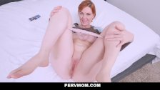 PervMom - Pervy Stepmom Find Sons Porn on Tablet