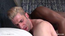 BBC Breeds a hot white muscled ass