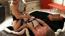 Young homos tickling and bonding