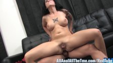 Tattoo'd babe Tricia Oaks Get Fucked in Gaping Ass!