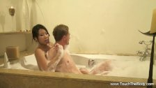 Relaxing MILF Massage From Asia - duration 8:00