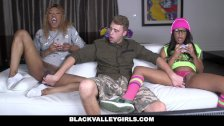 BlackValleyGirls - Black Gamer Girls Ride Hard Cock
