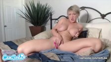 MILF Dee Williams Anal Plug and Masturbation