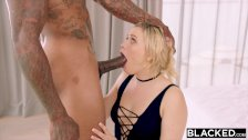 BLACKED MIA MALKOVA WORSHIPS BBC IN FIRST IR!! - duration 17:59