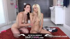 Simplyanal - Lesbian Anal Sex for hot babes Lola Shine and Victoria Daniels