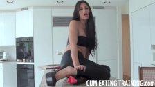 Femdom Cum Eating And Masturbation Instruction Vids