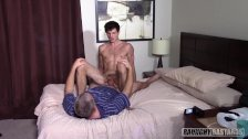 Straight Jock Gives Daddy A Blowjob On Casting Couch