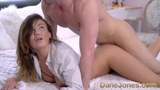 Dane Jones Big tits babelicious princess in lingerie and boyfriends shirt - duration 7:59