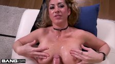 Janna Hicks loves having cock between her big tits