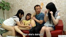 JAV amateur friend watches sex party HD subtitled