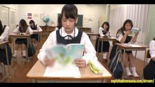 Abe Mikako Gets Massive Bukkake Face In Classroom Continual Cumshots Fantas