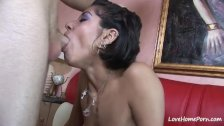 Hot banging for a dirty small tits girlfriend