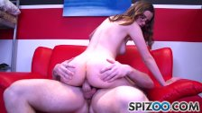 Teen Jay Taylor is punished by a huge cock,school girl,big booty - Spizoo