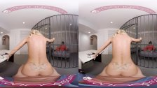 VRBangers Beautiful prisoner is working your dick to get out of prison VR