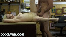 XXX PAWN – Stevie Sixx Sells Her BF's Bass Amp For Cash, And Her Ass, Too