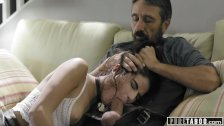 PURE TABOO Teen Slut Emily Willis Spanked & Creampied by Stepdad
