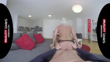 RealityLovers VR - Sexy German Milf joyriding
