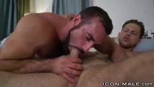 IconMale Sexy Hairy Daddy Jaxton Wheeler Fucks Hunk Roman Todd