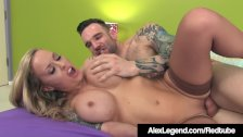 Inked Alexia Vosse Fucked By French Cock Alex Legend! - duration 11:00