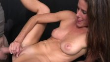 MILF Trip - Face full of cum for athletic brunette MILF - Part 2