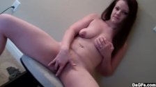 Thick Amateur Teen Plays With Herself